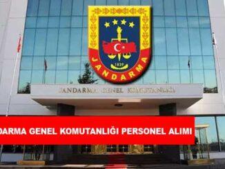 Jandarma Genel Komutanlığı Sözleşmeli Astsubay Alımı
