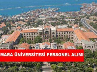 Marmara Üniversitesi Personel Alımı ve İş İlanları