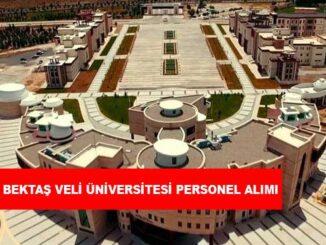 Nevşehir Hacı Bektaş Veli Üniversitesi Personel Alımı ve İş İlanları