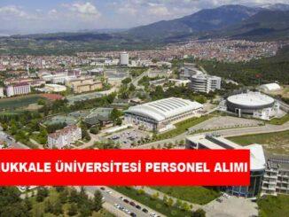 Pamukkale Üniversitesi Personel Alımı ve İş İlanları