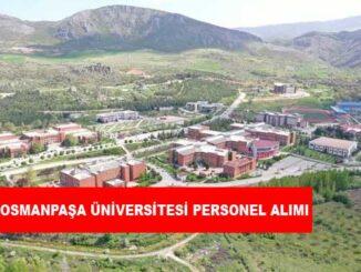 Tokat Gaziosmanpaşa Üniversitesi Personel Alımı ve İş İlanları