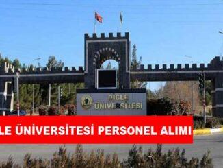 Dicle Üniversitesi Personel Alımı ve İş İlanları
