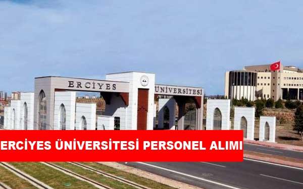 Erciyes Üniversitesi Personel Alımı ve İş İlanları