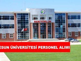 Giresun Üniversitesi Personel Alımı ve İş İlanları