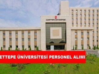 Hacettepe Üniversitesi Personel Alımı ve İş İlanları