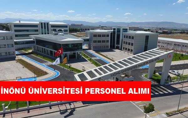 İnönü Üniversitesi Personel Alımı ve İş İlanları