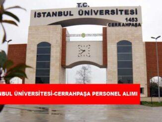 İstanbul Üniversitesi-Cerrahpaşa Personel Alımı ve İş İlanları