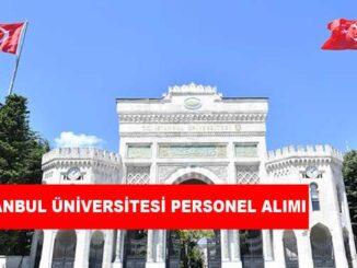 İstanbul Üniversitesi Personel Alımı ve İş İlanları