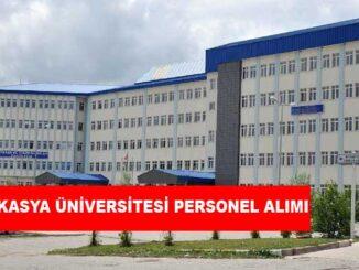 Kafkasya Üniversitesi Personel Alımı ve İş İlanları