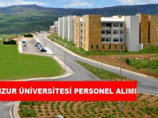 Munzur Üniversitesi Personel Alımı ve İş İlanları