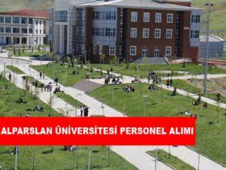 Muş Alparslan Üniversitesi Personel Alımı ve İş İlanları