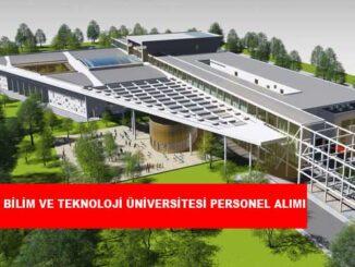 Sivas Bilim ve Teknoloji Üniversitesi Personel Alımı ve İş İlanları