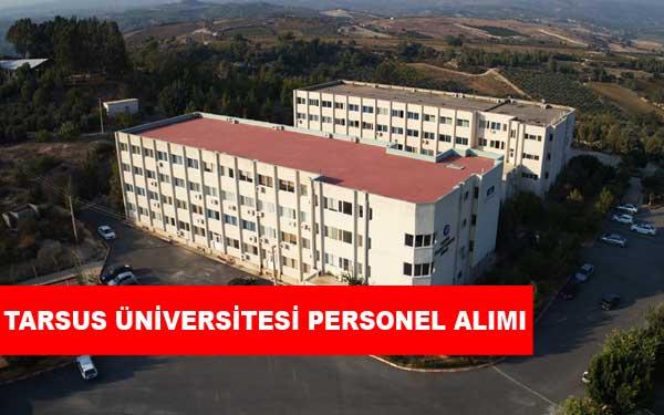 Tarsus Üniversitesi Personel Alımı ve İş İlanlar