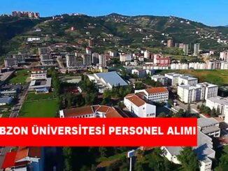 Trabzon Üniversitesi Personel Alımı ve İş İlanları