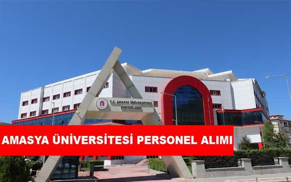 Amasya Üniversitesi Personel Alımı ve İş İlanları