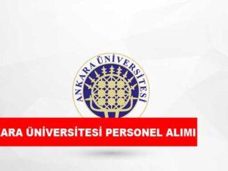 Ankara Üniversitesi Personel Alımı ve İş İlanları