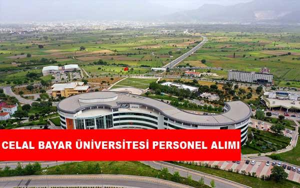 Celal Bayar Üniversitesi Personel Alımı ve İş İlanları