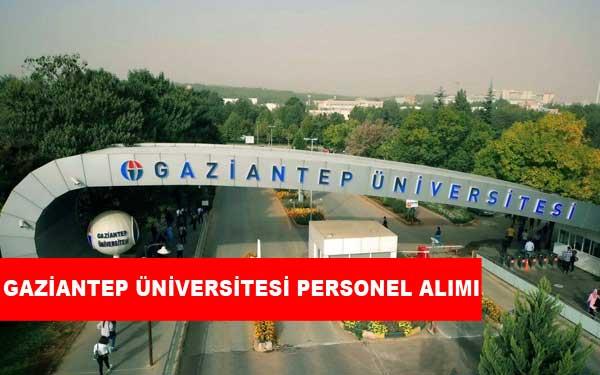 Gaziantep Üniversitesi Personel Alımı ve İş İlanları