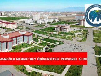 Karamanoğlu Mehmet Bey Üniversitesi Personel Alımı ve İş İlanları