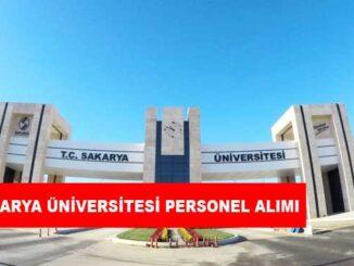 Sakarya Üniversitesi Personel Alımı ve İş İlanları