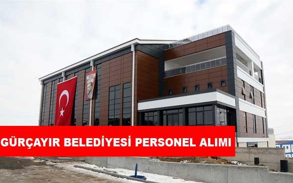 Sivas Gürçayır Belediyesi Personel Alımı ve İş İlanları