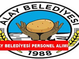 Alay Belediye Başkanlığı Personel Alımı ve İş İlanları
