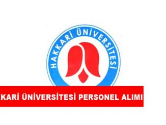 Hakkari Üniversitesi Personel Alımı ve İş İlanları