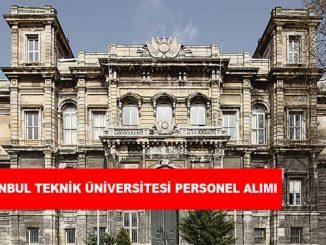 İstanbul Teknik Üniversitesi Personel Alımı ve İş İlanları