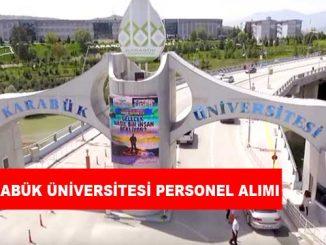 Karabük Üniversitesi Personel Alımı ve İş İlanları