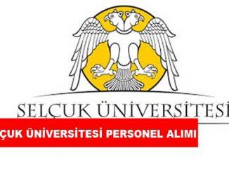 Selçuk Üniversitesi Personel Alımı ve İş İlanları