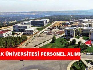 Uşak Üniversitesi Personel Alımı ve İş İlanları