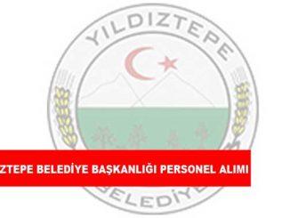 Yıldıztepe Belediye Başkanlığı Personel Alımı ve İş İlanları