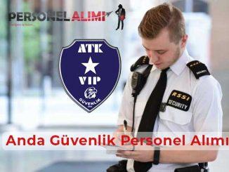 ATK Güvenlik Personel Alımı ve İş İlanları