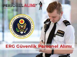 ERG Güvenlik Personel Alımı ve İş İlanları