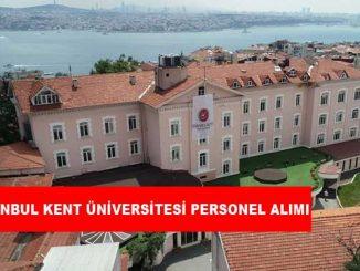 İstanbul Kent Üniversitesi Personel Alımı ve İş İlanları