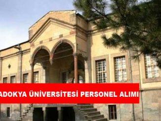 Kapadokya Üniversitesi Personel Alımı ve İş İlanları