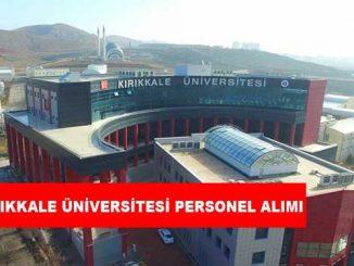 Kırıkkale Üniversitesi Personel Alımı ve İş İlanları