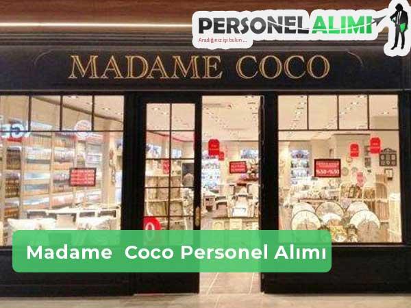 Madame Coco Personel Alımı ve İş İlanları