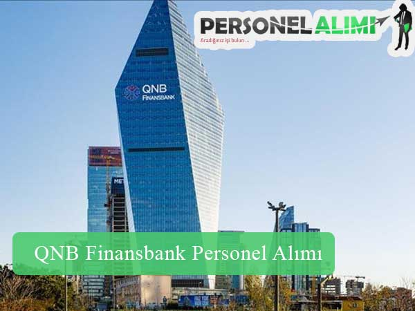 QNB Finansbank Personel Alımı ve İş İlanları