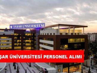 Yaşar Üniversitesi Personel Alımı ve İş İlanları