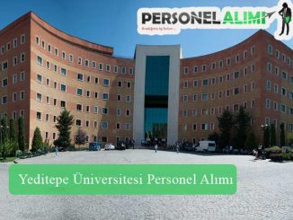 Yeditepe Üniversitesi Personel Alımı ve İş İlanları